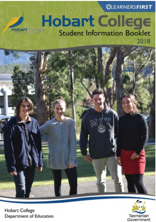 Hobart College Student Information Booklet 2018